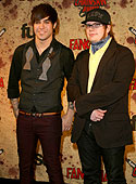 Pete and Patrick at the Fangoria Chainsaw Awards